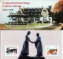 France 2015** Souvenir Philatélique Le Gouvernement Belge à Sainte Adresse ( Tirage Limité ) - Ungebraucht