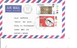 Brunei ( Lettre Par Avion De 1991 De Seria Vers La Grande-Bretagne à Voir) - Brunei (1984-...)