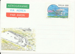 Italy Aerogramme 1979 In Mint Condition - Stamped Stationery