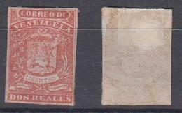 Venezuela Mi# 3 II * Mint 2R 1859 - Venezuela