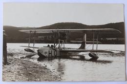 Rare Belle Carte Photo Avion Hydravion Schreck FBA 17 Au Lac De Saint Ferréol En 1929 Revel - Aviazione