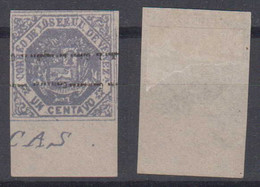Venezuela Mi# 18 IIK * Mint Lower Margin 1c 1873 - Venezuela