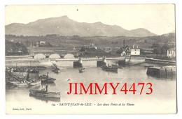 CPA - SAINT-JEAN-de-LUZ - Les Deux Ponts Et La Rhune ( 64 Pyrénées Atlantiques ) N° 19 - Edit. Gorce - Scans Recto-Verso - Saint Jean De Luz
