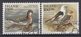 IJSLAND - Michel - 1989 - Nr 697/98 - Gest/Obl/Us - 1944-... República