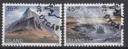 IJSLAND - Michel - 1989 - Nr 704/05 - Gest/Obl/Us - 1944-... República