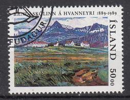 IJSLAND - Michel - 1989 - Nr 706 - Gest/Obl/Us - 1944-... República