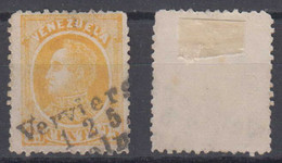 Venezuela Mi# 25 X Used 25c 1880 German Railway Postmark VERVIERS – COELN - Venezuela
