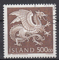 IJSLAND - Michel - 1989 - Nr 703 - Gest/Obl/Us - 1944-... República