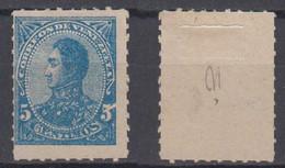 Venezuela Mi# 33 (*) Mint 5c 1887 - Venezuela