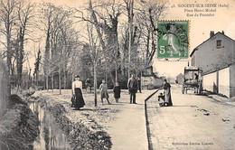 NOGENT SUR SEINE - Place Henri Michel - Rue Du Poncelot - Très Bon état - Nogent-sur-Seine