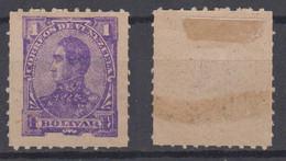 Venezuela Mi# 36 * Mint 1B 1887 - Venezuela