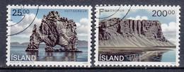 IJSLAND - Michel - 1990 - Nr 731/32 - Gest/Obl/Us - 1944-... República