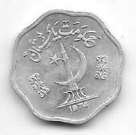 *pakistan 2 Paisa 1974  Km 34  Unc /ms63 - Pakistan