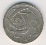 CZECHOSLOVAKIA 1965: 3 Koruny, KM 57 - Czechoslovakia