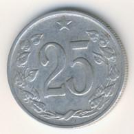 CZECHOSLOVAKIA 1962: 25 Haleru, KM 54 - Czechoslovakia