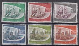 Venezuela Mi# 1358-63 ** MNH Oil 1960 - Venezuela