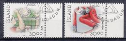 IJSLAND - Michel - 1992 - Nr 760/61 - Gest/Obl/Us - 1944-... República