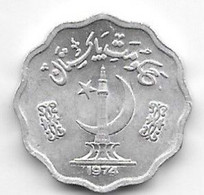 *pakistan 10 Paisa 1974  Km 36  Unc /ms63 - Pakistan