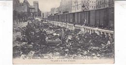Guerre 1914- ANVERS-Objets Abandonnés Par Les Fuyards, Vue Prise De La Gare D'Anvers - Weltkrieg 1914-18