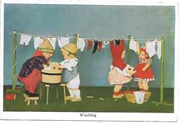 Doll, Puppe, Poupée, Hang Up Laundry, Clothesline, Wäsche Aufhängen, Wäscheleine, Corde à Linge - Games & Toys