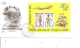 Togo - UPU ( FDC De 1974 Avec BF à Voir) - Togo (1960-...)