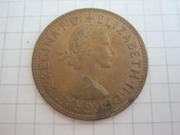 Great Britain 1 Penny 1966 - 1902-1971 : Monete Post-Vittoriane