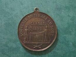 MEDAILLE SOUVENIR DU TIRAGE AU SORT - CLASSE 1892 - Conscrit 2 - France