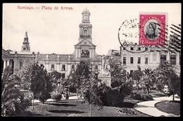 Santiago -  Plaza De Armas. - Chile