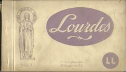 CARNET Complet De 20 Cartes Postales Anciennes De LOURDES (Série I - LL). - Lourdes