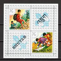 BHOUTAN BLOC N° 42   NEUF SANS  CHARNIERE COTE  6.00€       SCOUTISME - Bhutan