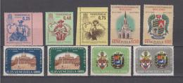 Venezuela Mi# 1493-01 ** MNH 9 Stamps 1963 - Venezuela