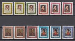 Venezuela Mi# 1683-94 ** MNH Bolivar 1966 - Venezuela