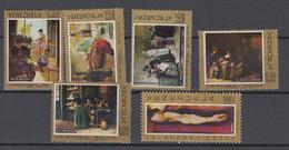 Venezuela Mi# 1787-92 ** MNH Rojas Painting 1969 - Venezuela