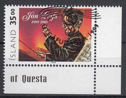 IJSLAND - Michel - 1999 - Nr 902 - Gest/Obl/Us - 1944-... República