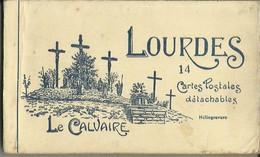 CARNET Complet De 14 Cartes Postales Anciennes De LOURDES (Edition Labouche). - Lourdes