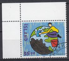 IJSLAND - Michel - 1999 - Nr 927 - Gest/Obl/Us - 1944-... República