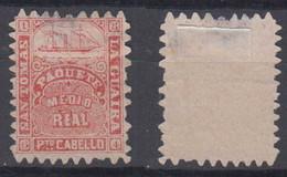 Venezuela ST THOMAS SHIP TODD Mi# 17 (*) Mint 1866 Steamer - Venezuela