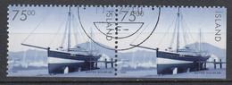 IJSLAND - Michel - 1999 - Nr 911 Du + Eu - Gest/Obl/Us - 1944-... República