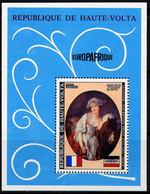 """HAUTE-VOLTA - BF5H** - EUROPAFRIQUE / """"LA LAITIÈRE"""" PAR GREUSE - Upper Volta (1958-1984)"""