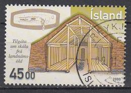 IJSLAND - Michel - 2000 - Nr 965 - Gest/Obl/Us - 1944-... República