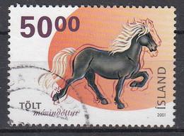 IJSLAND - Michel - 2001 - Nr 984 - Gest/Obl/Us - 1944-... República