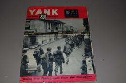 Revue Yank 8 Decembre 1944 Gi Lebere Les Philippines - Inglés