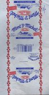 Ancienne Etiquette Fromage Feuille Papier Emballage Beurre Mont St Michel Elle & Vire Mantequilla 250g F5013901CE Export - Formaggio
