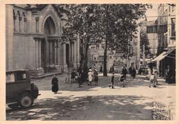 DRAGUIGNAN - Place De La Paroisse - Eglise - Photo Leyronnas - Draguignan