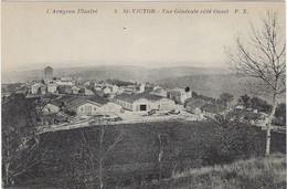 12   Saint Victor Vue Generale Cote Ouest - Saint Victor