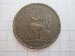 Spain 50 Centimos 1937 - [ 2] 1931-1939 : Republic