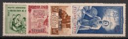 Kouang Tchéou - 1942 - Poste Aérienne PA N°Yv. 1 à 4 - PEIQI - Neuf Luxe ** / MNH / Postfrisch - Unused Stamps