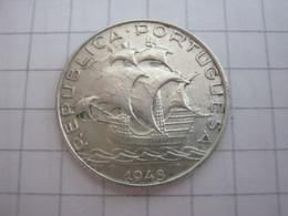 Portugal 2 1/2 Escudos 1943 - Portugal