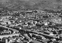 DRAGUIGNAN - Vue Générale, à Droite La Tour De L'Horloge, Et Au Centre L'Eglise - Draguignan