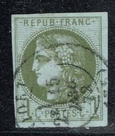 A6b- N°39 Sans Défaut Signé BUHLER Expert Allemand. - 1870 Bordeaux Printing